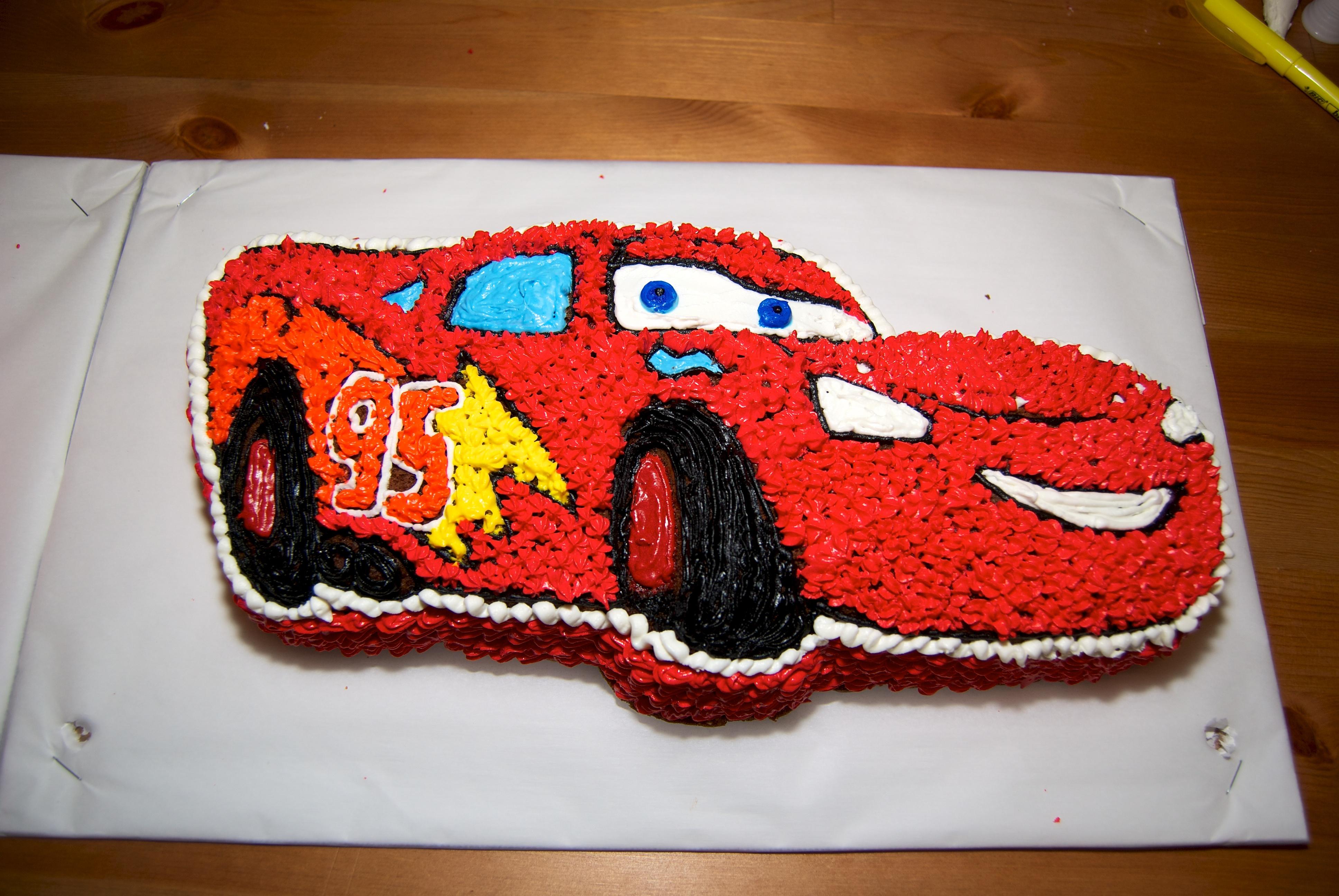 Novelty Cake PanLightning McQueen mumusaifujacomLightning