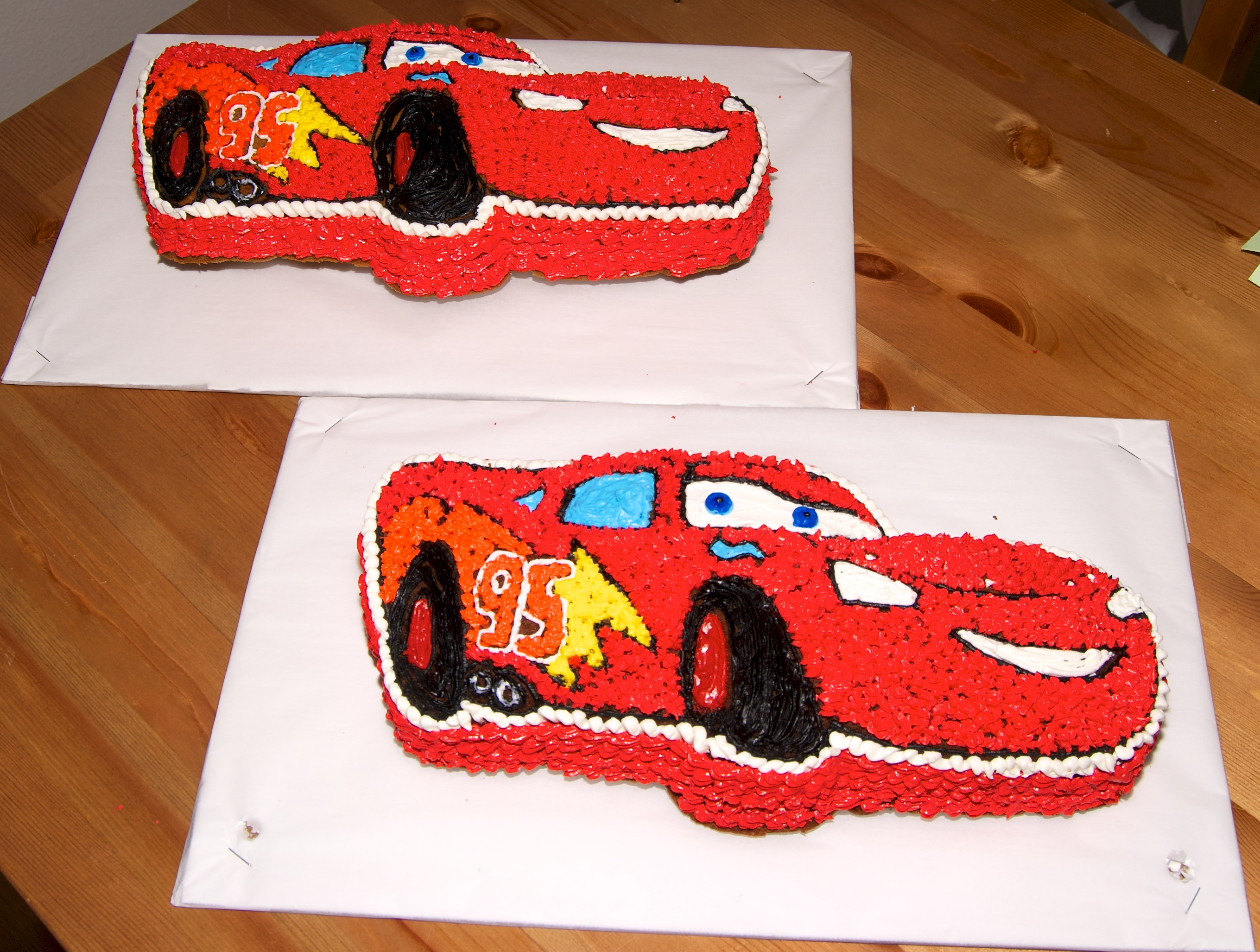 Big Red Car Cake Shape